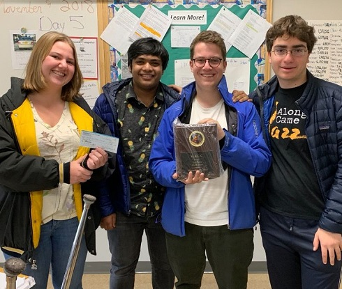 Academic Challenge Team Takes First Place in MACC Tournament