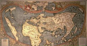 Renaissance map of the World
