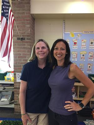 Mrs. McNaney and Mrs. Cecere