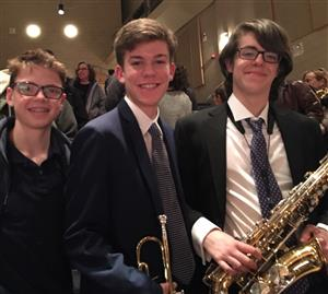 Congratulations to Hastings All County Jazz Selections