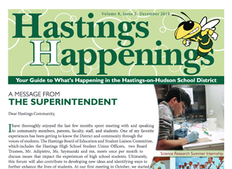 Hastings Happenings Winter Newsletter