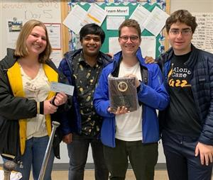 Academic Challenge Team Takes First Place at MACC Tournament