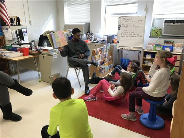 World Read Aloud Day Celebrated at Hillside