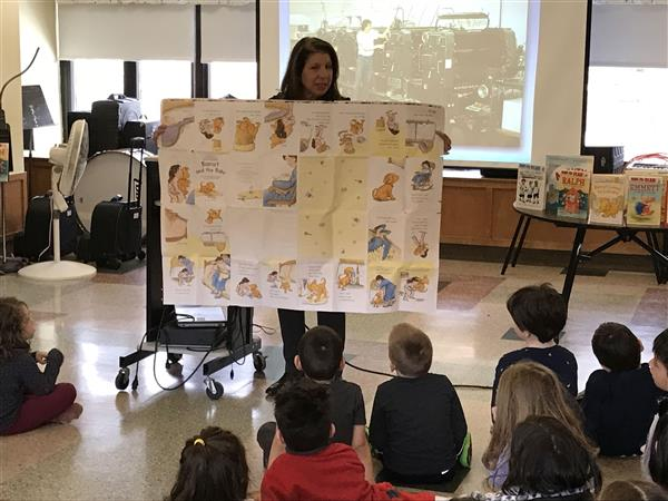 Author Visits Delight Children