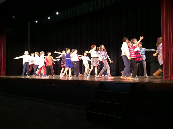 Fifth Graders Perform Latin Dance Routines