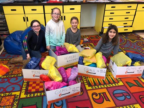 Student Activity Committee Organizes Coat Drive