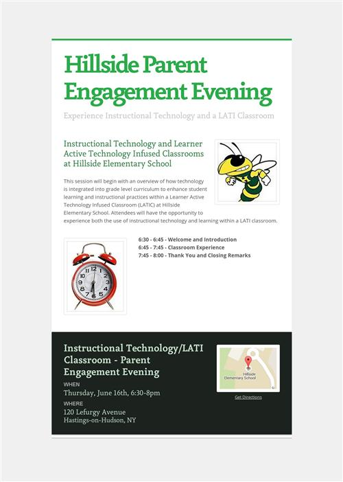Parent Engagement Evening